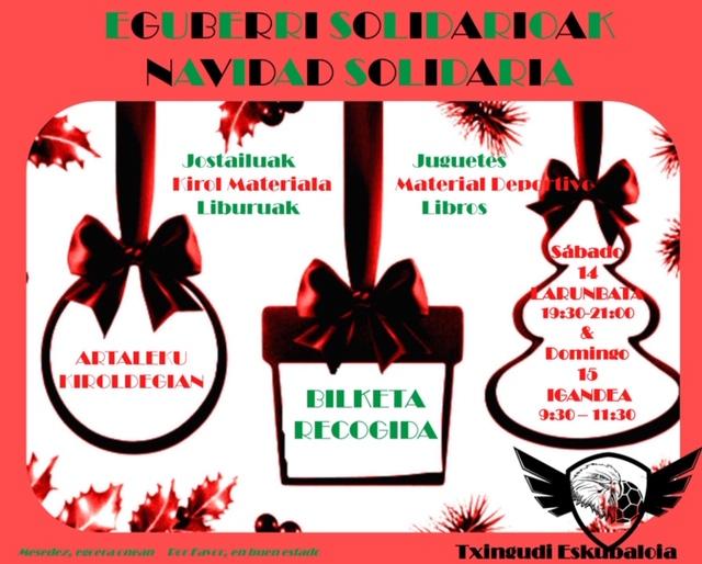 Eguberri Solidarioak Txingudi Eskubaloia